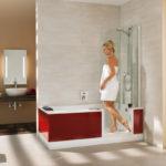 Elegant und platzsparend: Die innovative Duschbadewanne Twinline löst Platzprobleme und ist dank des sehr niedrigen Einstiegs leicht zu nutzen. Foto: Artweger/txn-p