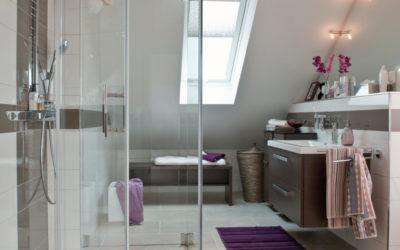 Schimmelbildung – Unfreiwillige Dampfsauna im Badezimmer