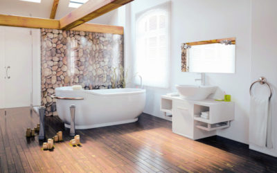 Wohngesunde Badgestaltung