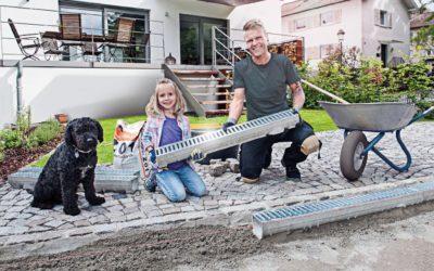 Terrassenentwässerung: So klappt's mit dem Einbau