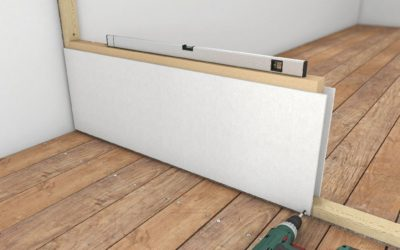 Raumteiler: Schnelle Wand mit Trockenbauplatten