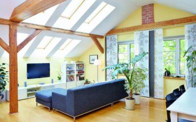 Dachwohnungen brauchen dauerhaft Schutz vor Wind und Wetter