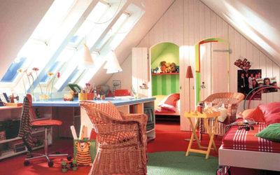 Dachausbau: Kinderzimmer auf höchstem Niveau