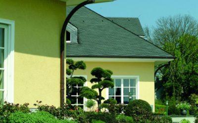 Edelkratzputz für die Hausfassade