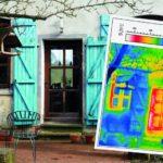 Haus, Tür, Fenster und Thermografie – energetische Sanierung