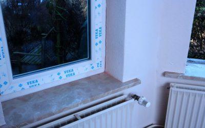 Neue Fenster, schnell und sauber