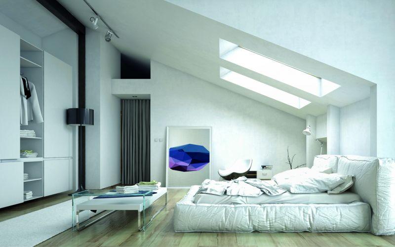 Ein gemütliches Schlafzimmer im Altbau