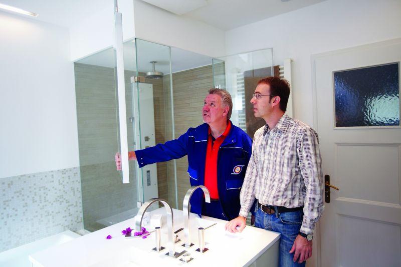 Badezimmer: Fachhandwerker genießen Vertrauen