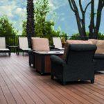 Terrasse aus dem neuen Werkstoff Resysta: Edel sowie nachhaltig