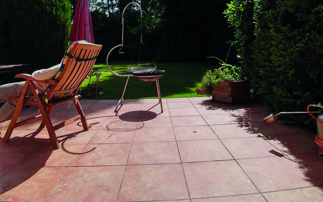 Terrakotta-Fliesen – Lange Freude am grünen Wohnzimmer