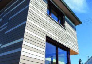 Moderne Fassaden in verschiedenen Farben schützen das Eigenheim vor äußeren Einflüssen