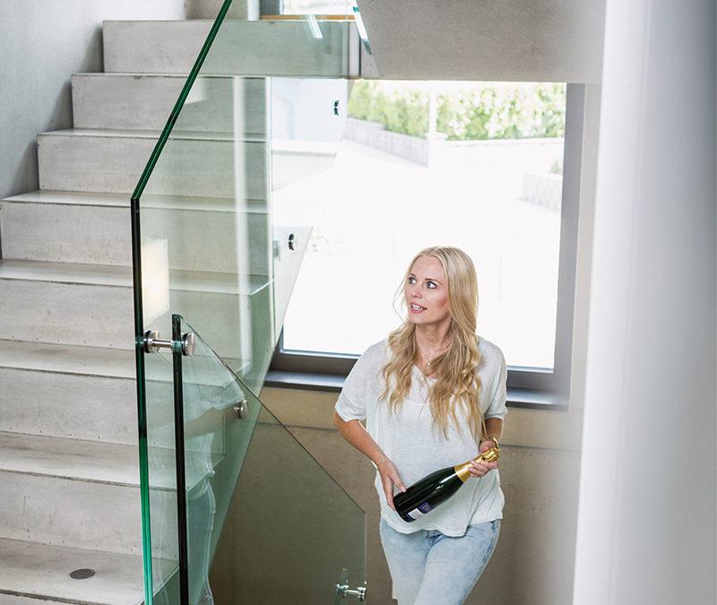 Treppen aus Beton: Aufstieg perfekt in Szene gesetzt